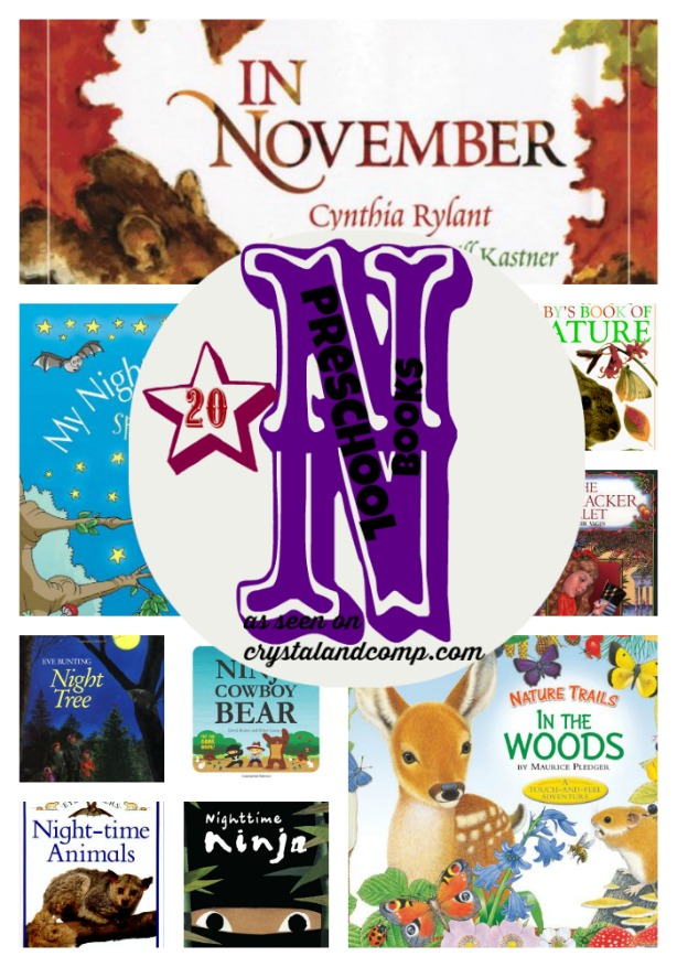 20 Preschool Books to Read While Learning the Letter N