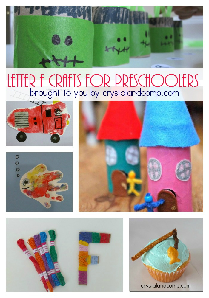 32 Letter F Crafts and Activities for Preschoolers