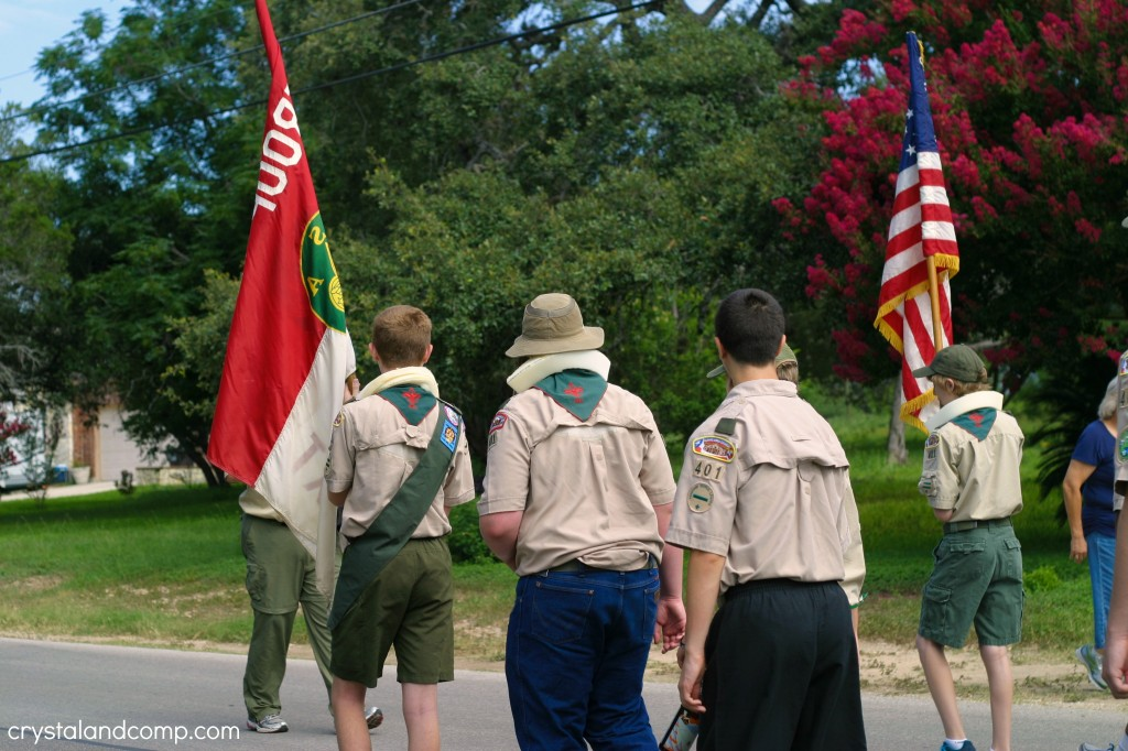 boy scouts 4th of july
