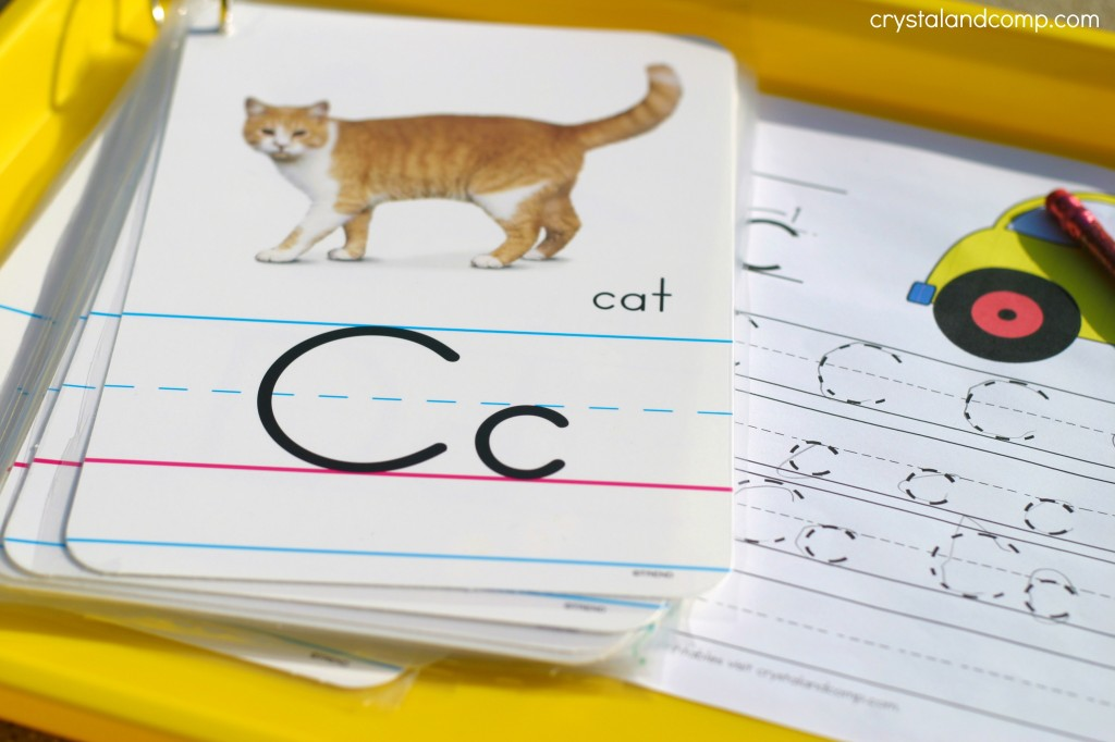 c is for car and c is for cat
