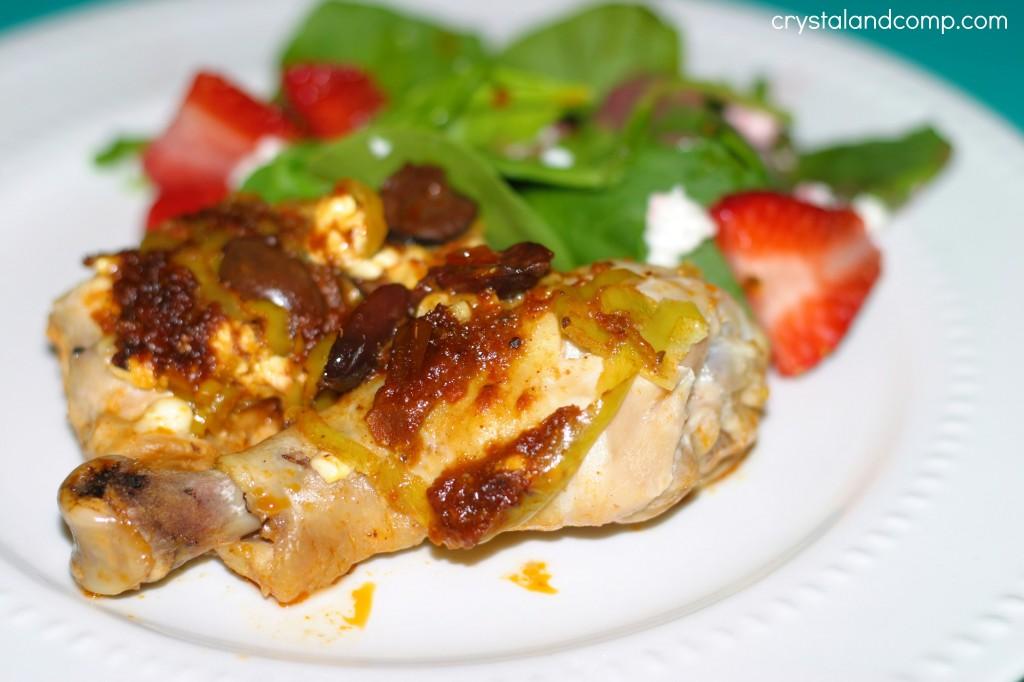 easy grilled mediterranean chicken recipe