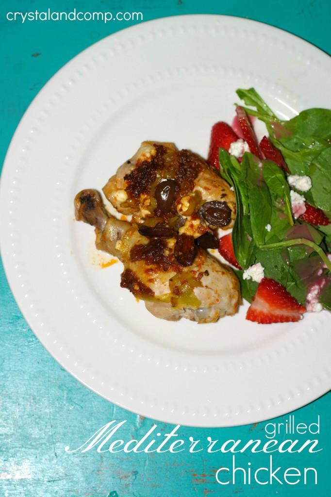 grilled mediterranean chicken recipe