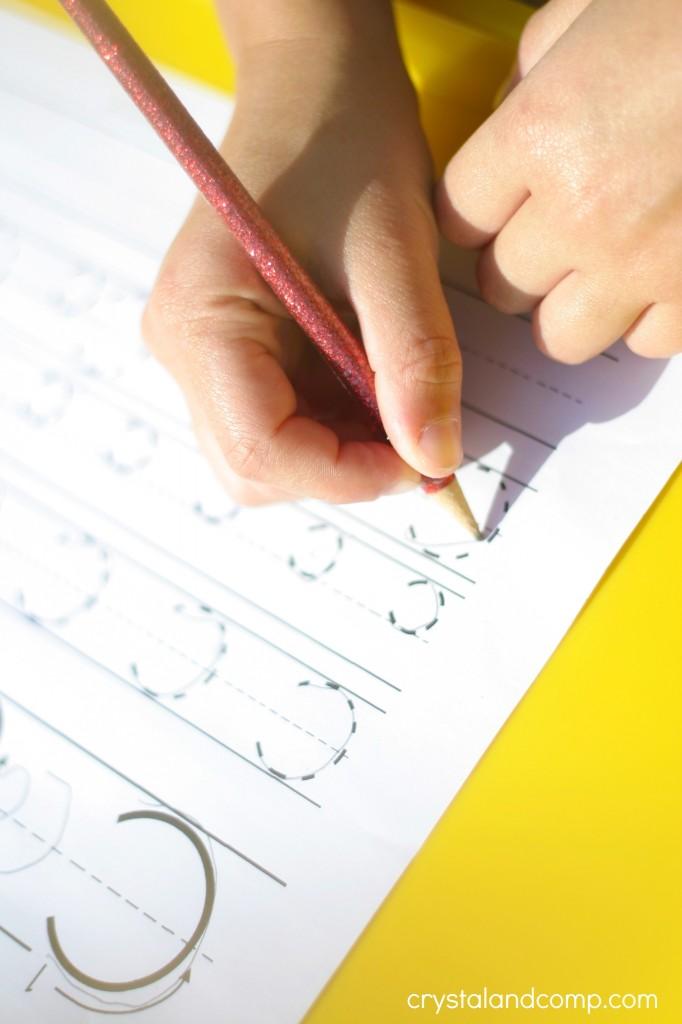 handwriting practice for kids