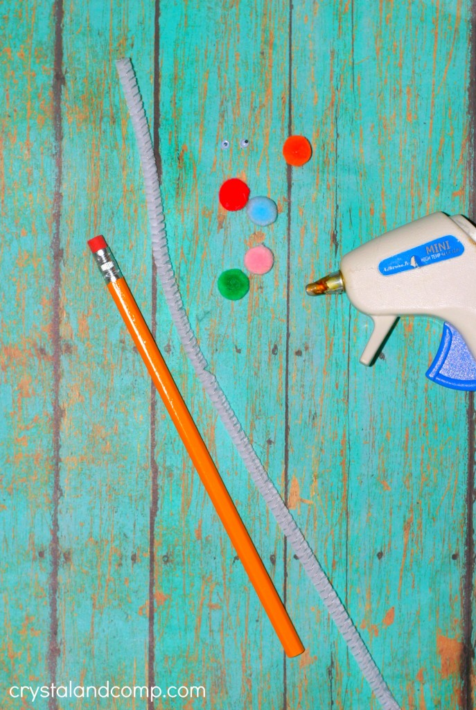 how to make a pencil topper for back to school