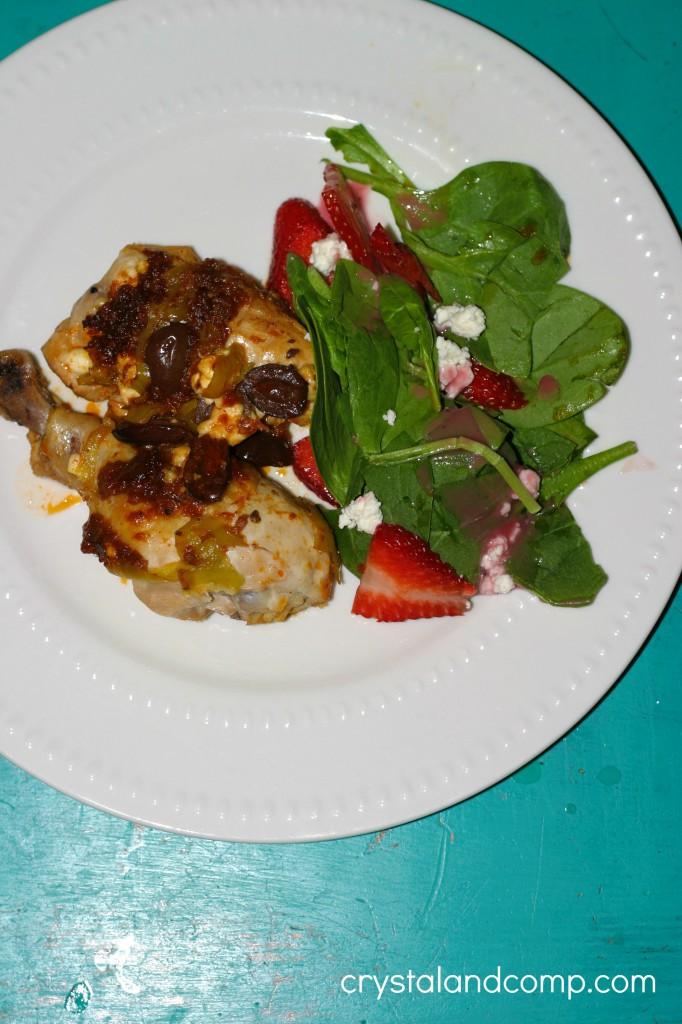 simple grilled mediterranean chicken recipe