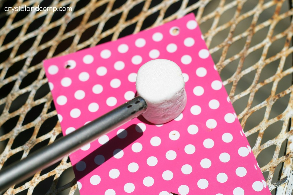 toast a marshmallow with a lighter