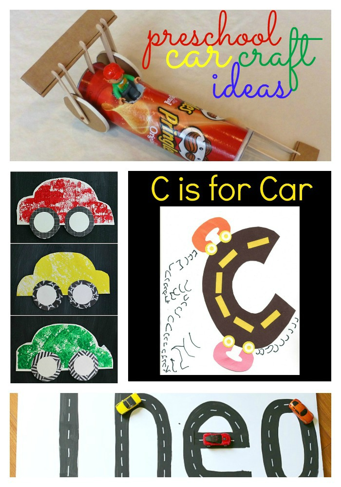 19 Preschool Car Craft Ideas