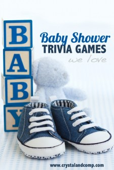 9 Baby Shower Trivia Games