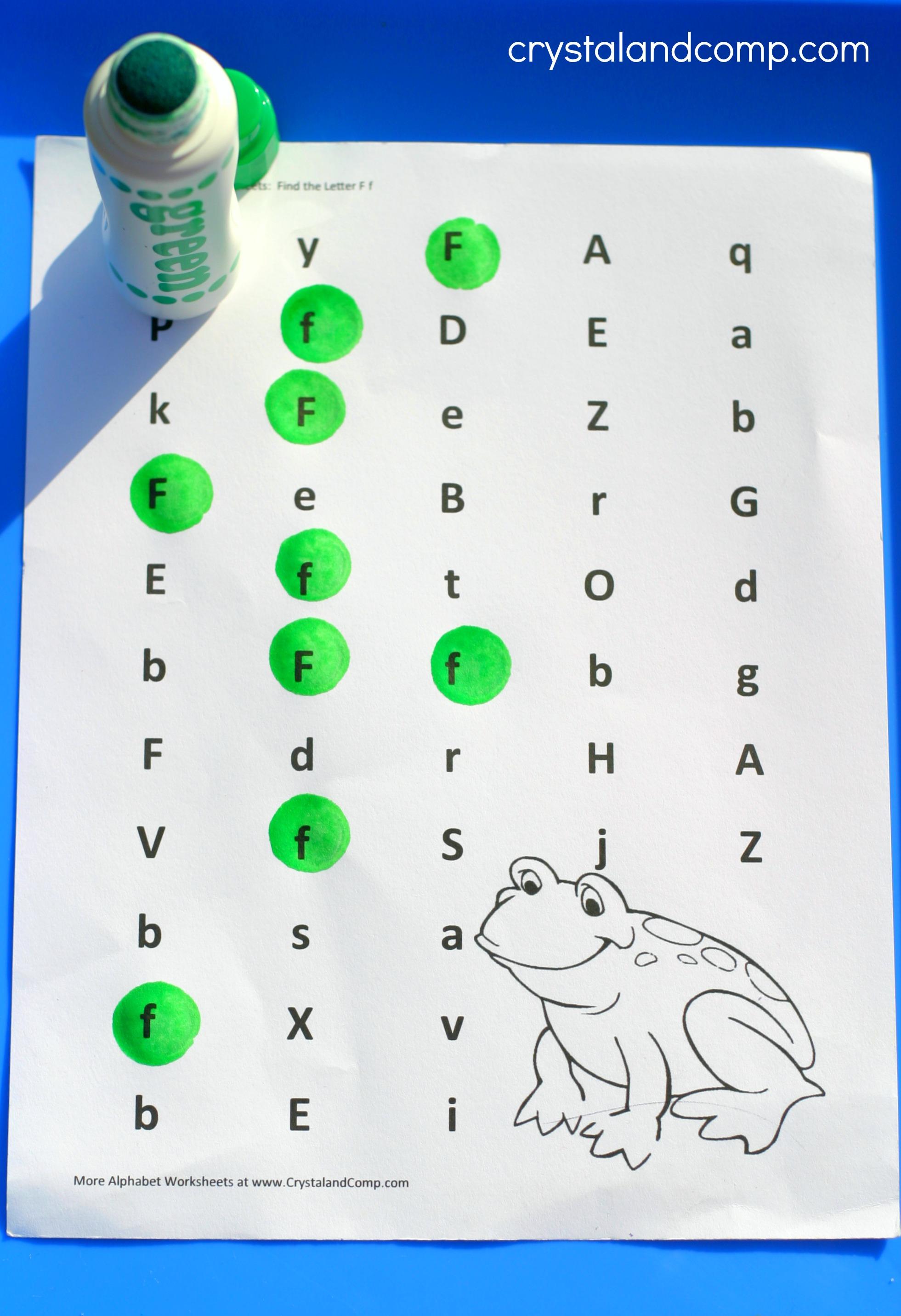 Frog Printable Craft