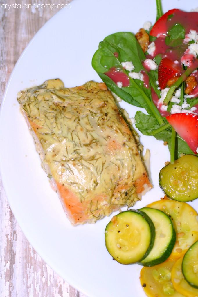 easy recipes dill salmon