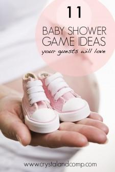 11 Baby Shower Game Ideas