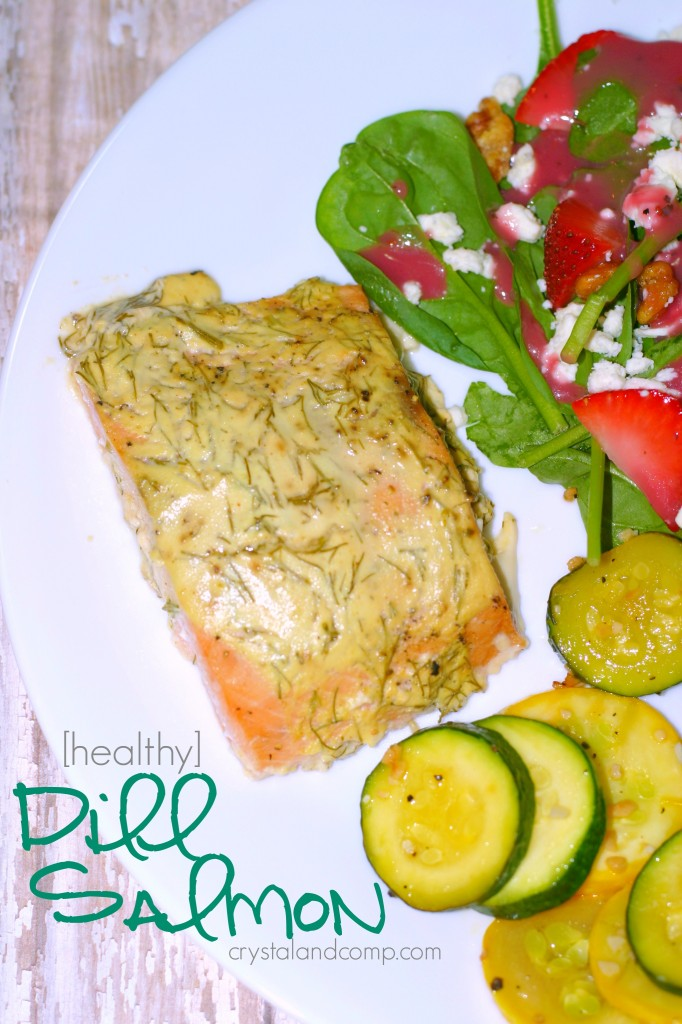 Easy Recipes: Yogurt Dill Salmon