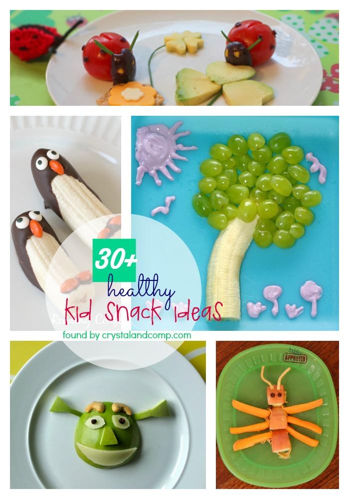 Winter Healthy Snacks 30 Healthy Kid Snack Ideas