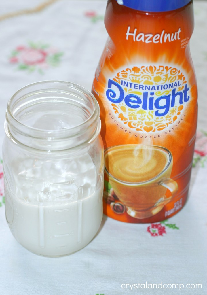 internatinal delight hazelnut coffee creamer