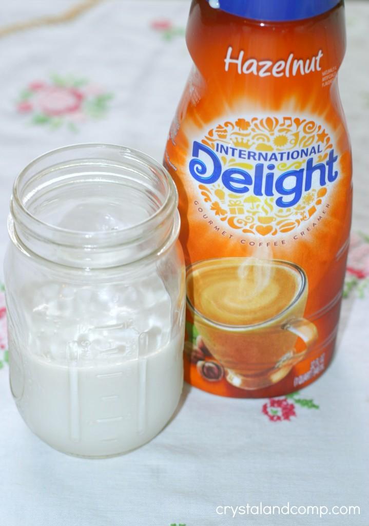 internatinal delight hazelnut coffee creamer