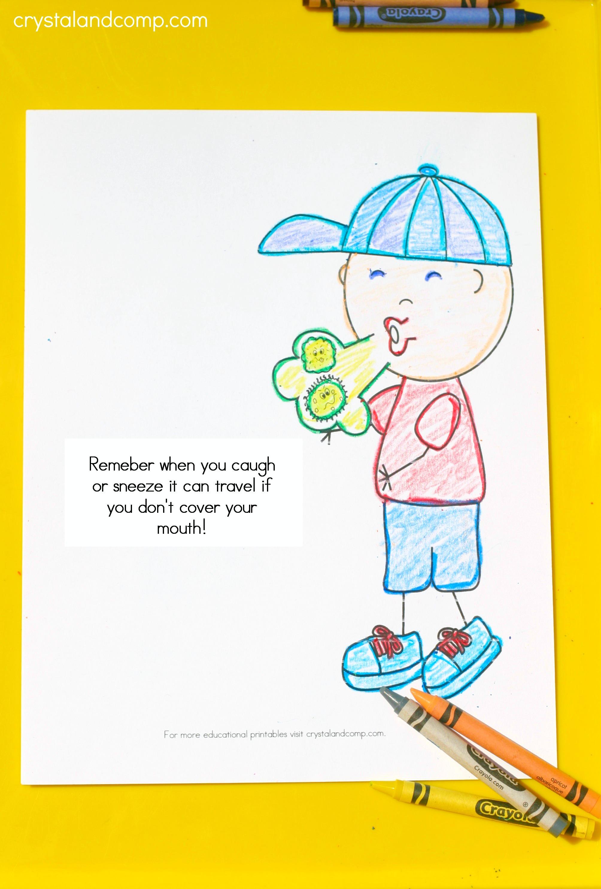 Free coloring pages germs - Free Coloring Pages Germs 21