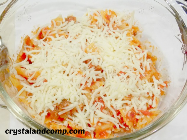 lasagna-inspired casserole bake