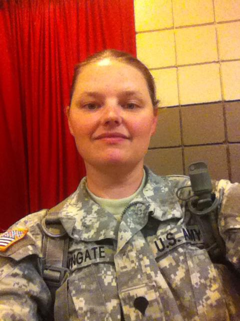 monnica in army bootcamp