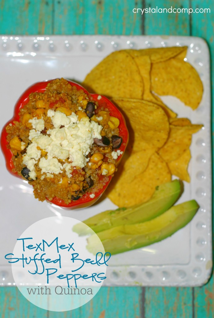 tex med stuffed bell peppers with quinoa