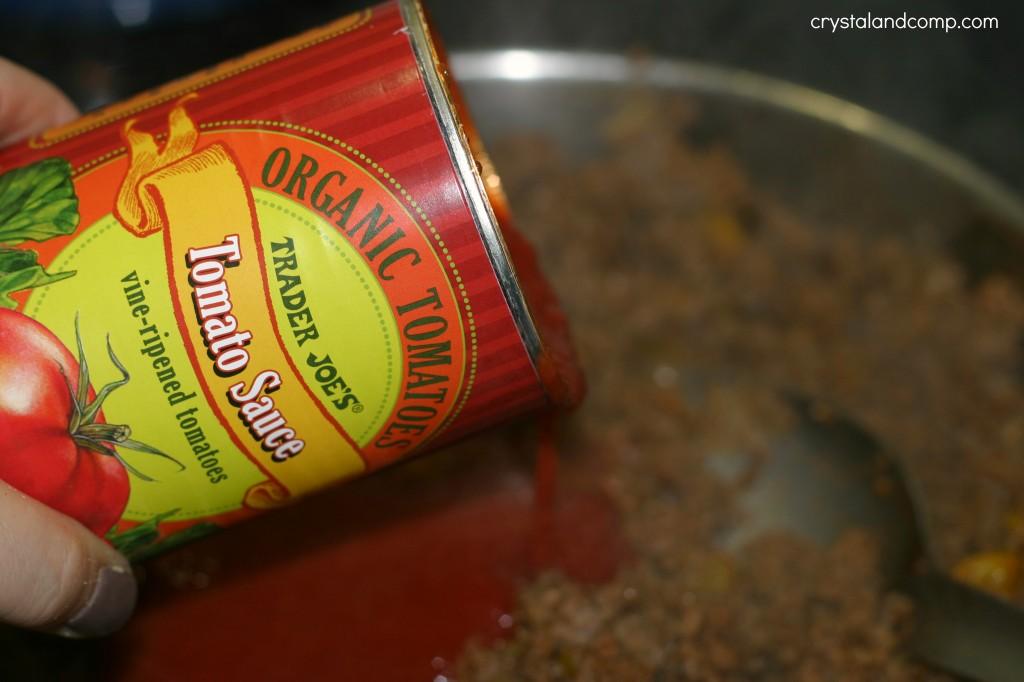 trader joes organic tomato sauce