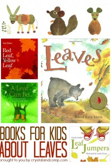 25 books for kids about leaves