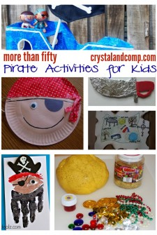 More Than 50 Pirate Activities for Kids