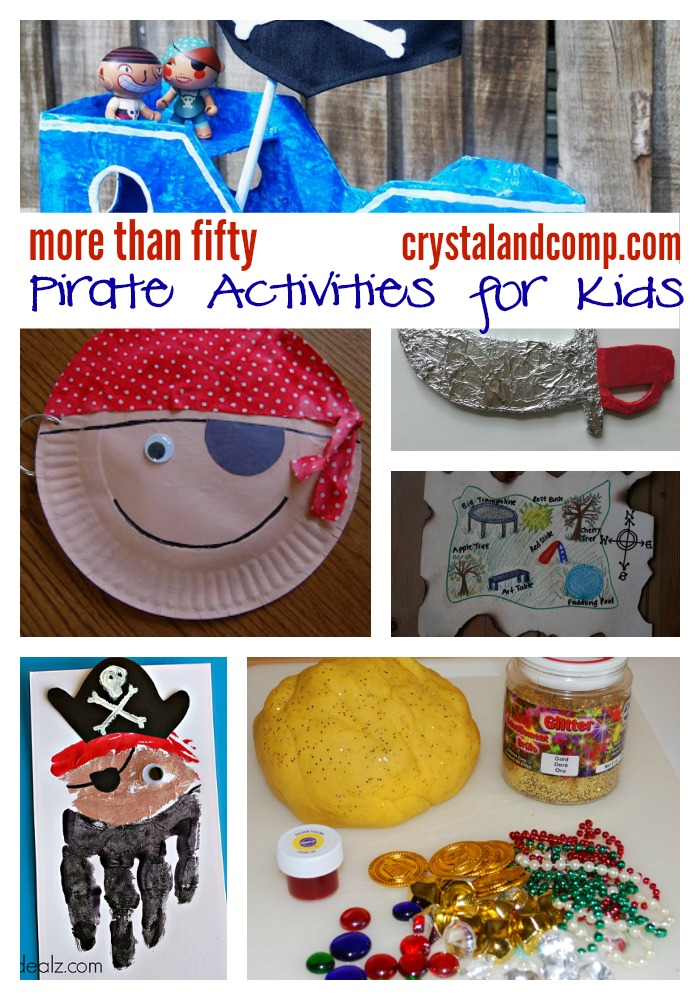 50+ pirate activities for kids