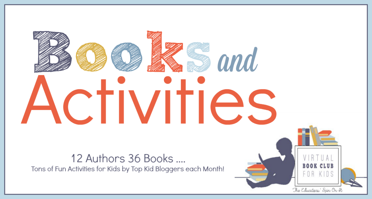 books and activities featured at the virtual book club for kids