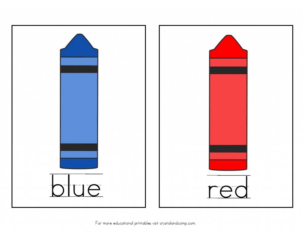 Book about color red -  Teach Colors To Kids Red And Blue