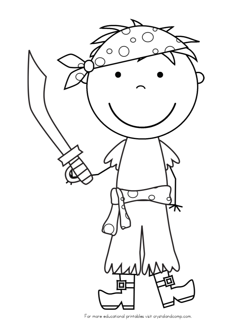 famous pirates coloring pages - photo#23