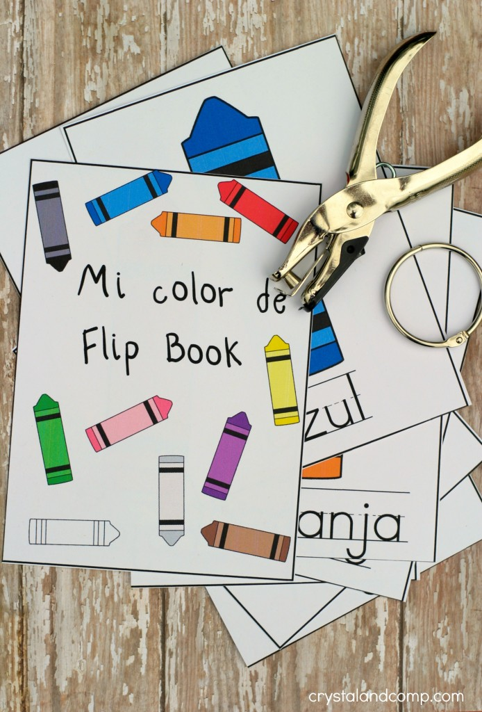 colors in spanish free printable