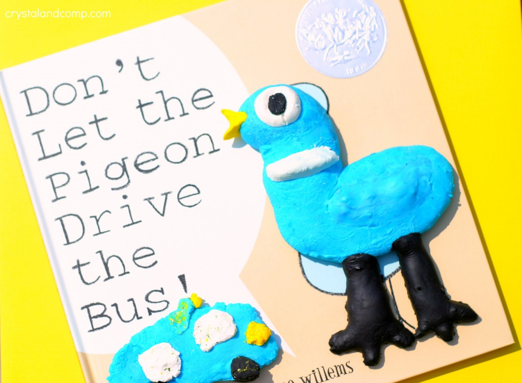 don't let the pigeon drive the bus clay activity for kids