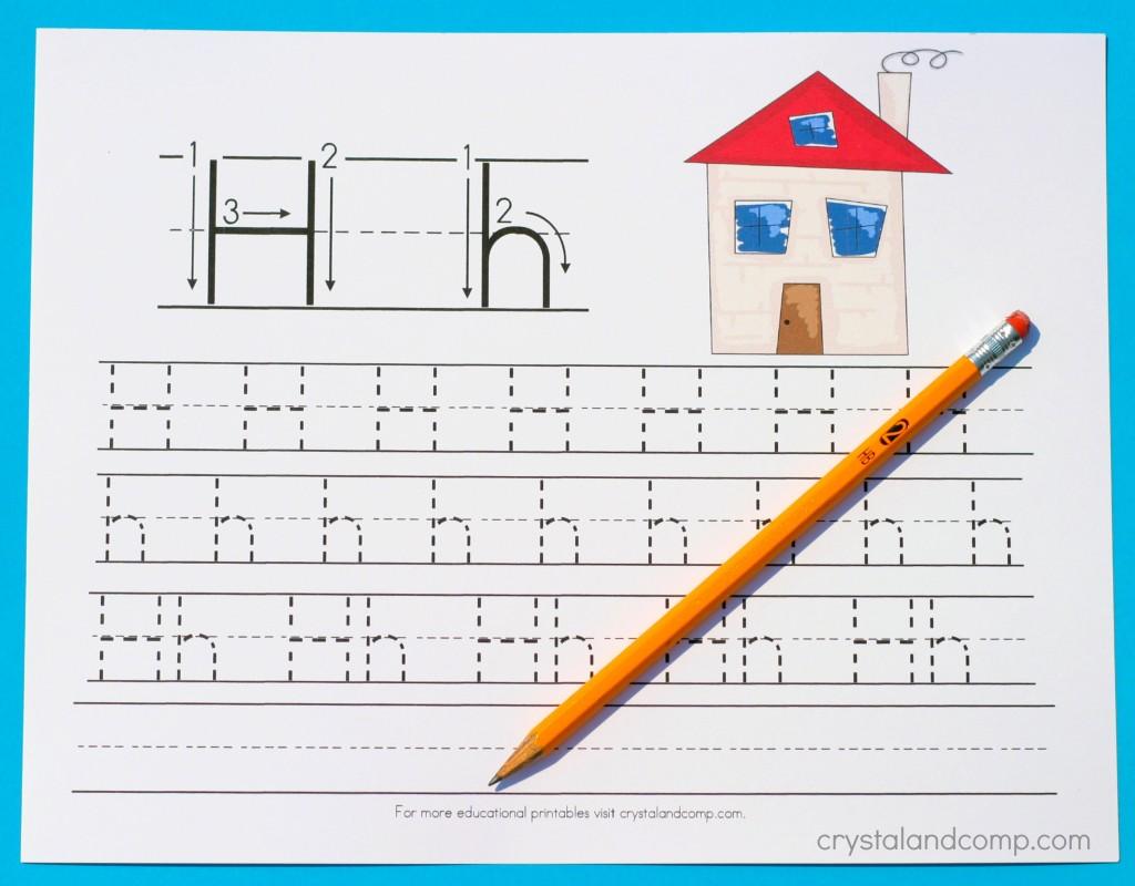 handwriting practice for preschool