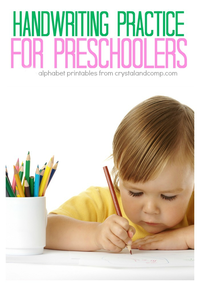 handwriting practice for preschoolers