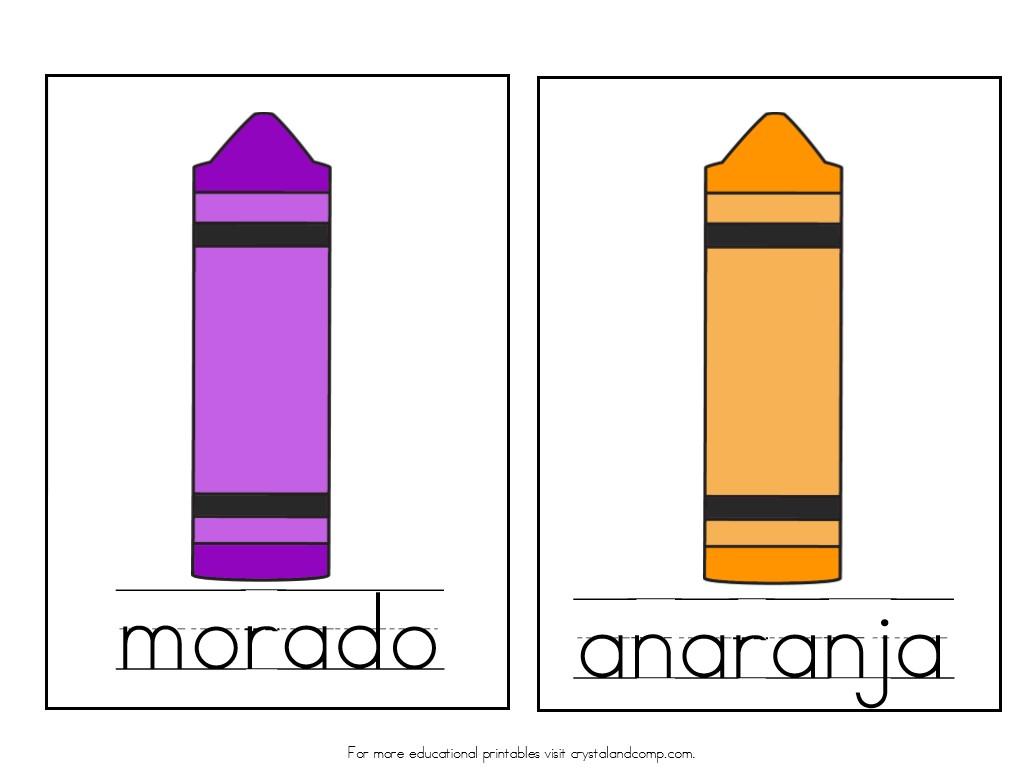 morando is purple anaranja is orange