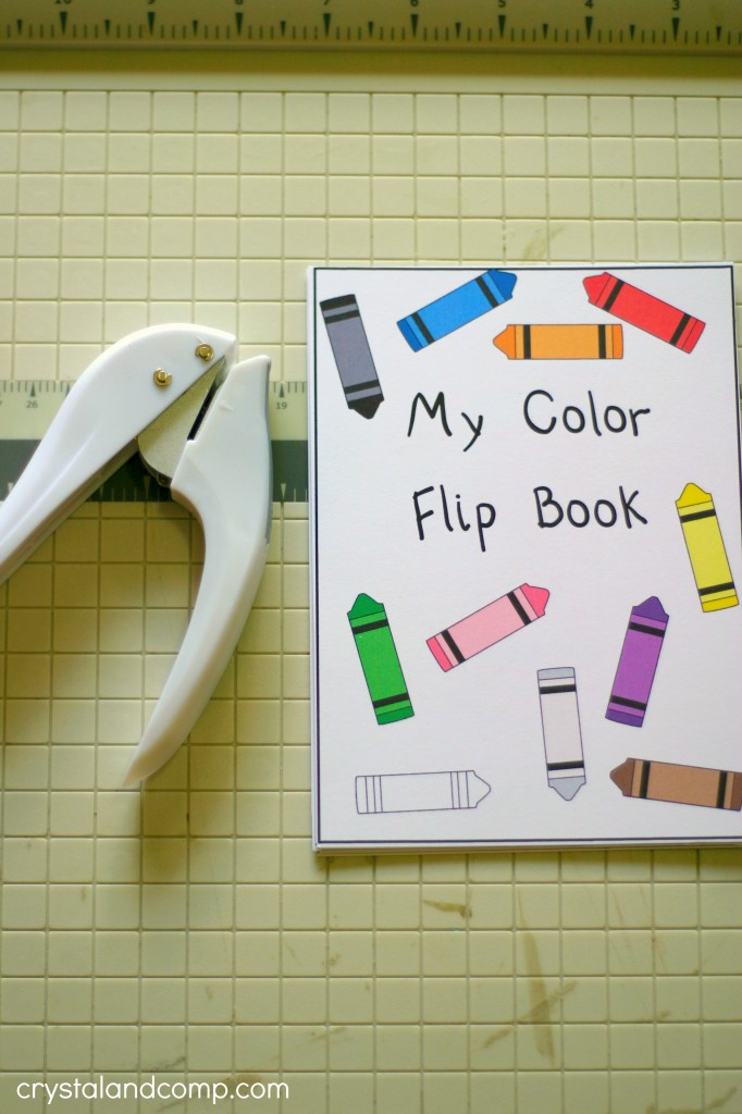 Colors to Kids Flip Book