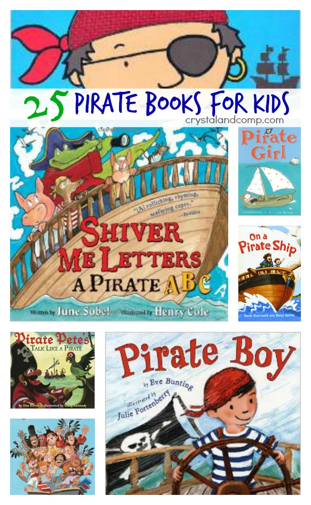 pirate activities for kids 25 books