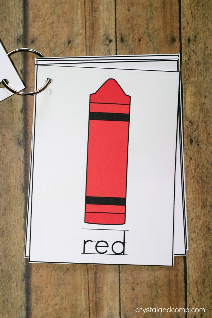 teach colors to kids red