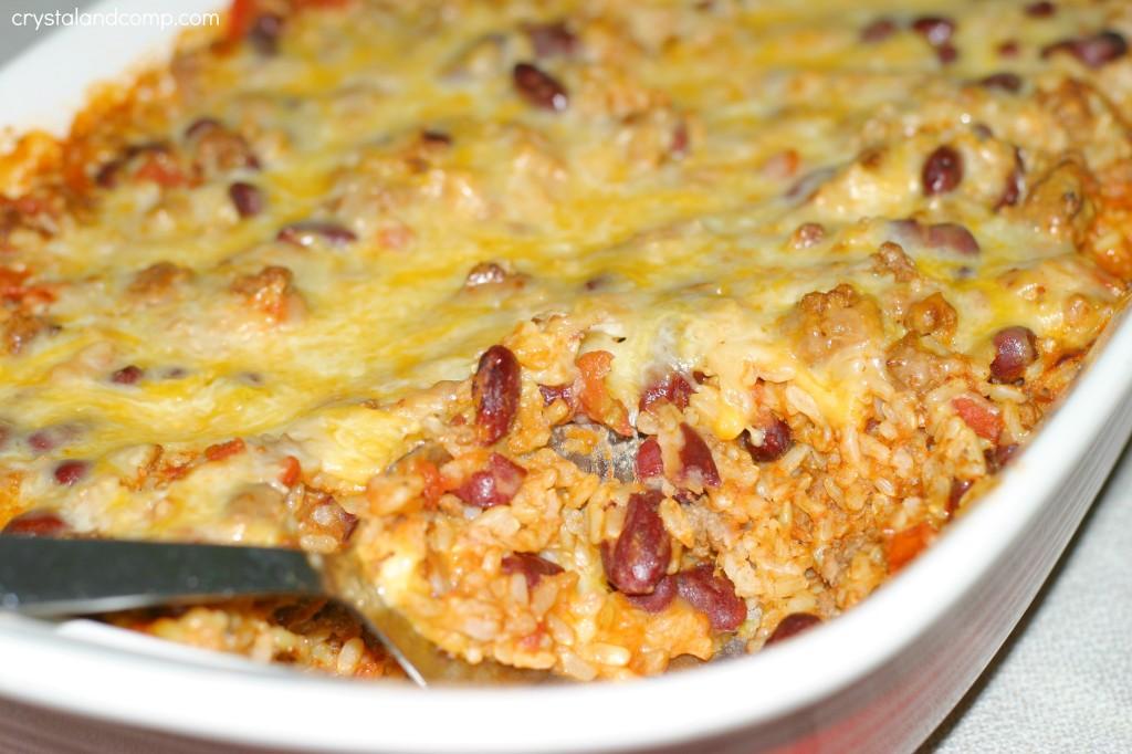 western meal casserole