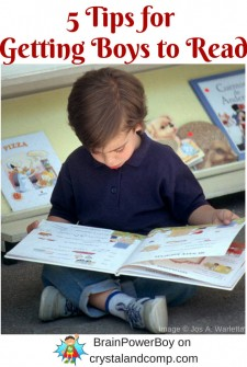 5 Tips for Getting Boys to Read