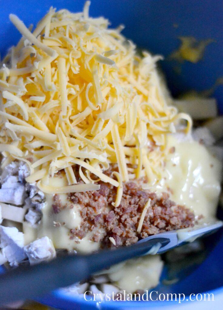 Easy Chicken Potato Casserole