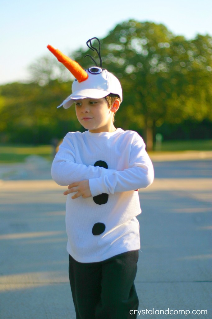 DIY Olaf Costume for Kids  sc 1 st  CrystalandComp.com & Olaf Costume