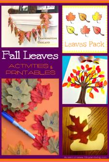 Fall Leaf Printables