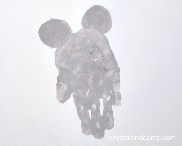 Mouse Hand Print Art