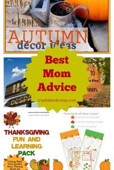 best mom advice 10192014