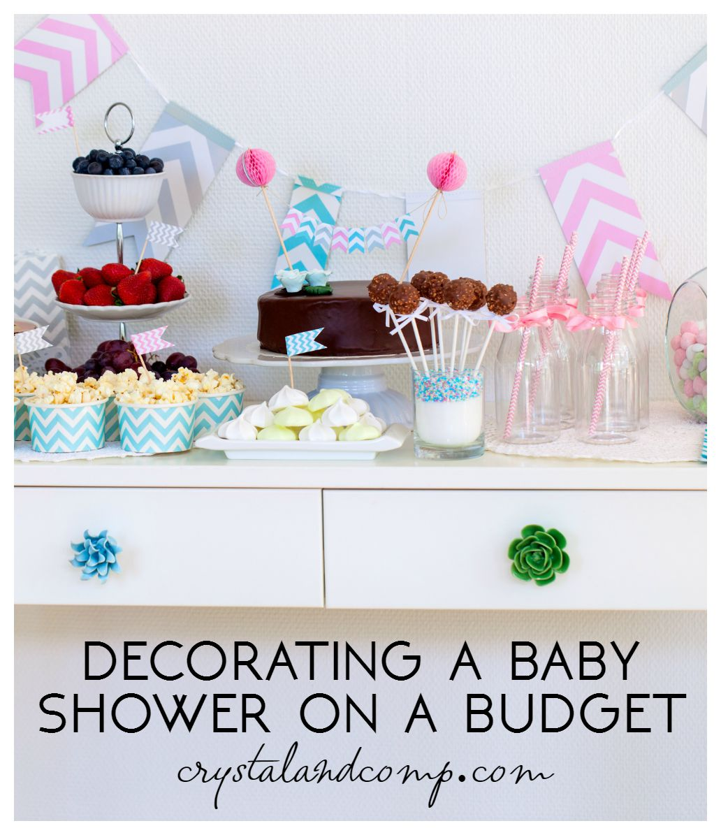 Baby Shower Decoration Ideas For Cheap tips for decorating a baby shower | crystalandcomp