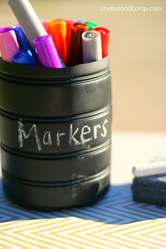 diy marker storage