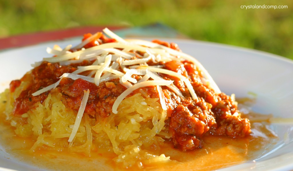 easy spaghetti recipe using spaghetti squash