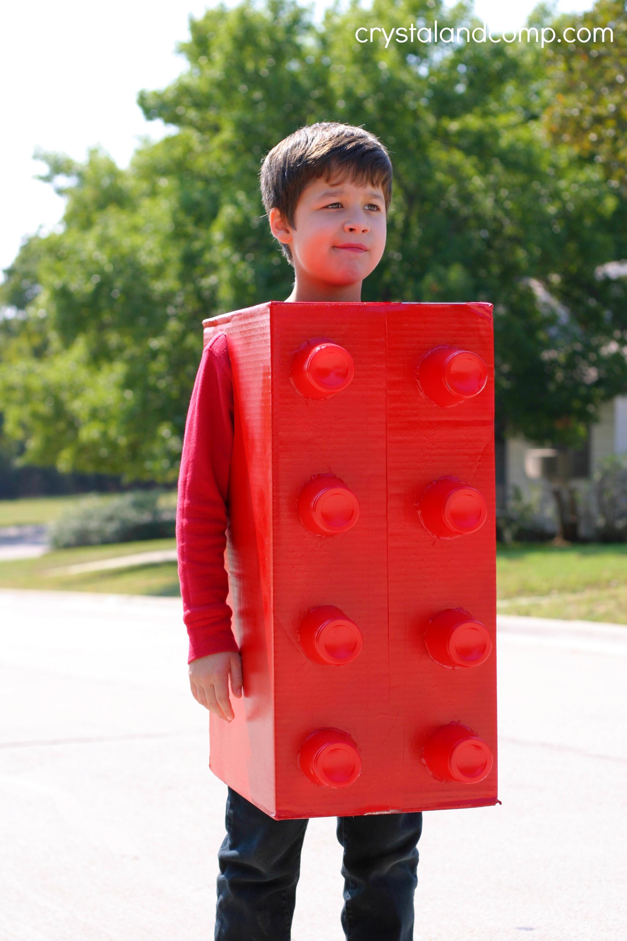 Homemade Lego Costume
