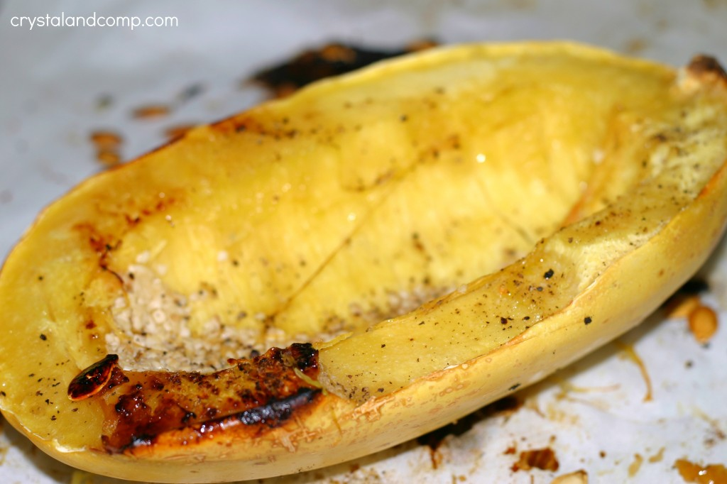 how to use spaghetti squash instead of pasta